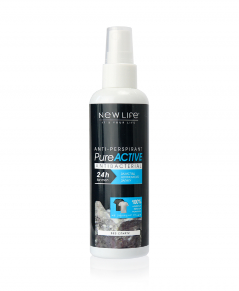 ANTI-PERSPIRANT   PURE ACTIVE   FOR MEN