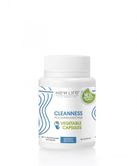 CLEANNESS | ЧИСТОТА  | 60 РОСЛИННИХ КАПСУЛ У БАНОЧЦІ